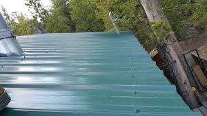 new metal roof red feather lakes