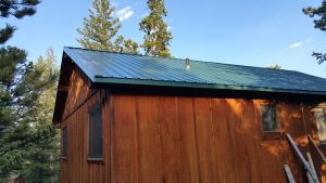 new metal roof side red feather lakes