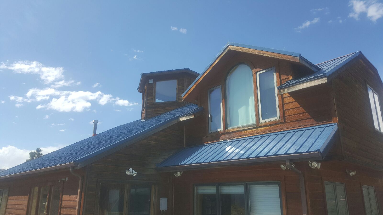 Replaced Exposed Fastener Metal Roof For Boulder Colorado