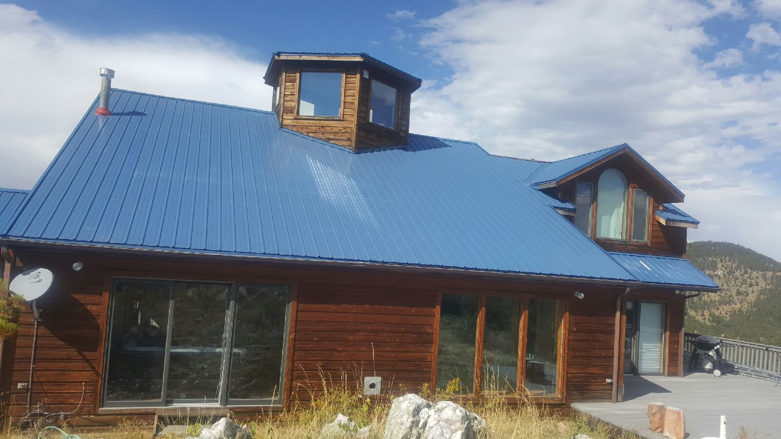 Boulder Co New House Roof Exposed Fastener Metal 2 Bob
