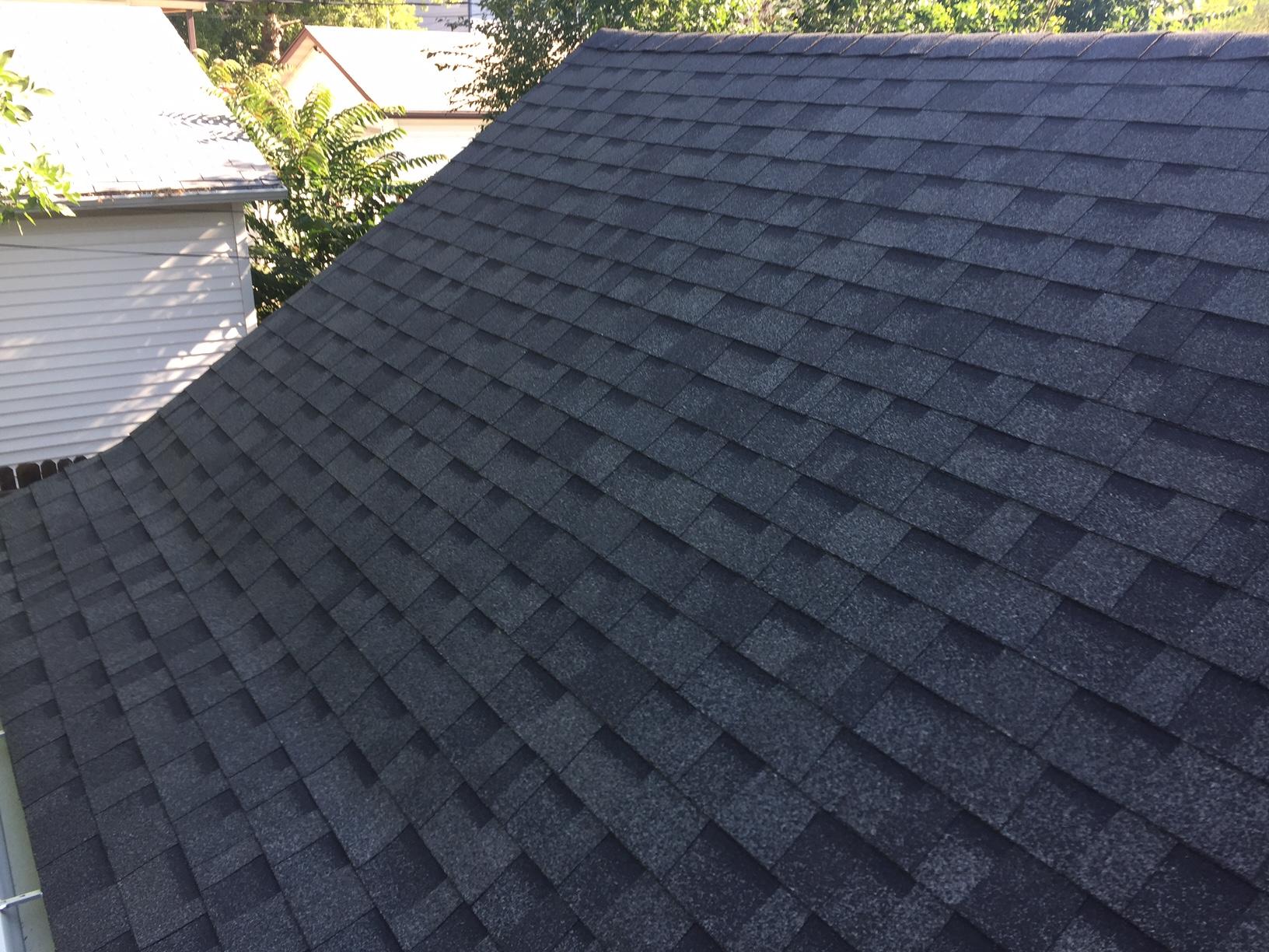 New House Roof Oakridge Estate Gray Shingles And Sbs