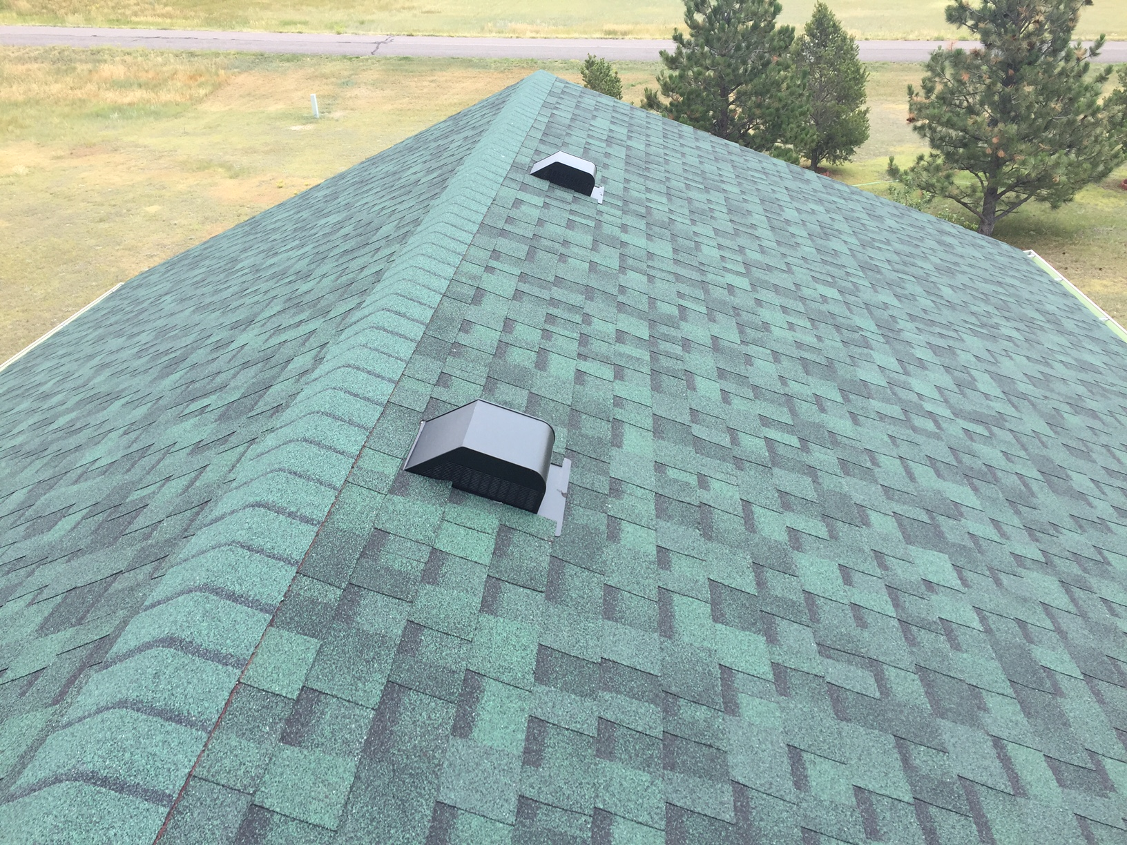 Cheyenne New House Roof With Duration Chateau Green