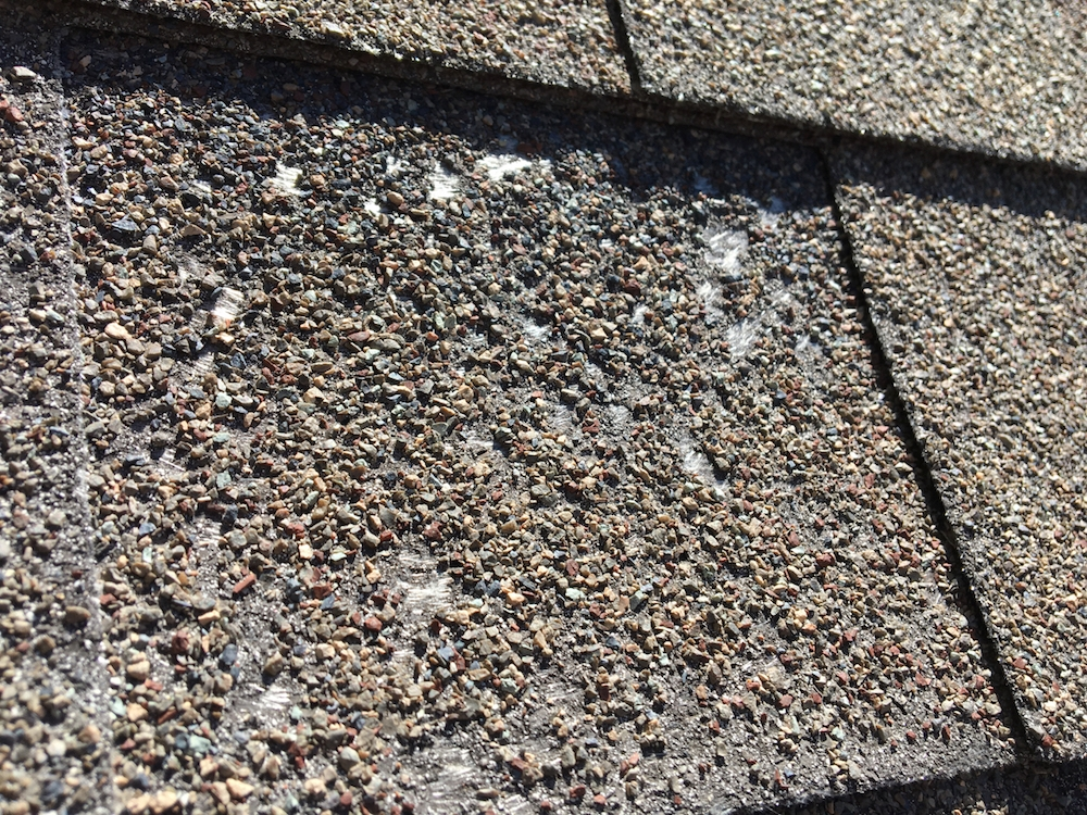 Hail Damage Roof Estimate - 12 300 About Roof