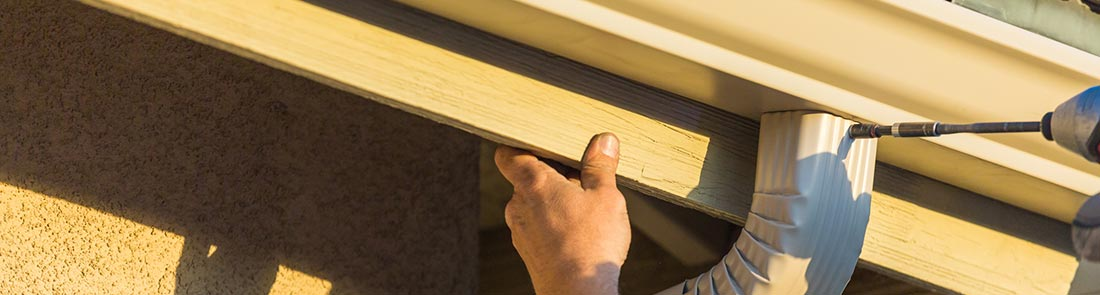 gutter and downspout repair and installation
