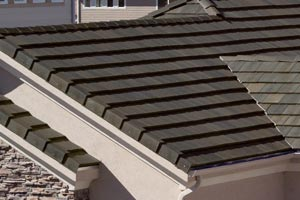 Boral Roofing's Slate tile roof on house