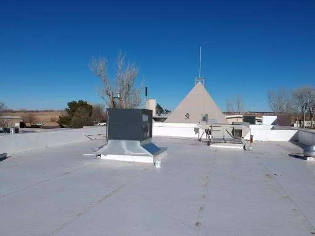 TPO roof we installed on Farmers Reservoir & Irrigation Company.