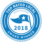Bob Behrends Roofing and Gutters awarded Top Rated's Local 2018 Award